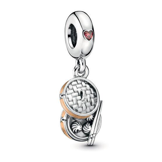 Pandora Chinese Bao Enamel & CZ Dangle Charm