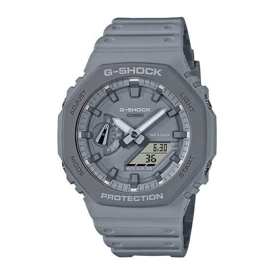 G-Shock Earth Tone Gray Octogon Bezel Watch, 48.5mm