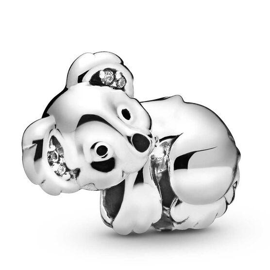 Pandora Koala Enamel & CZ Charm