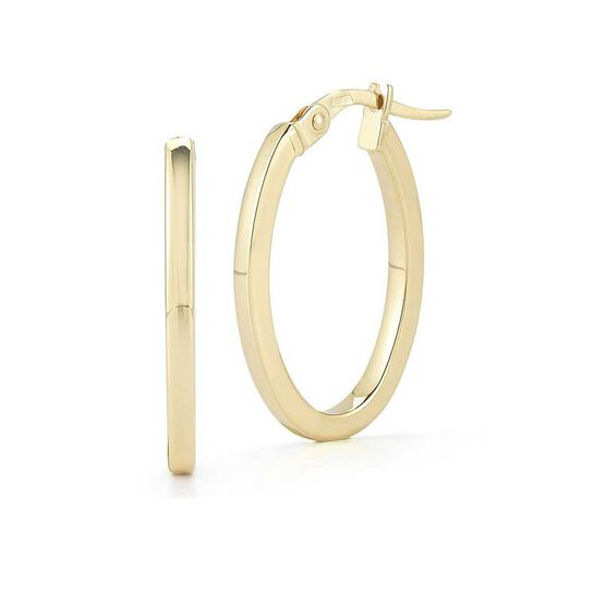 Roberto Coin Perfect Gold Hoop Earrings 18K