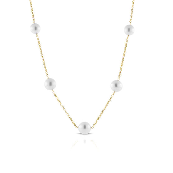 Cultured South Sea Pearl Necklace 14K