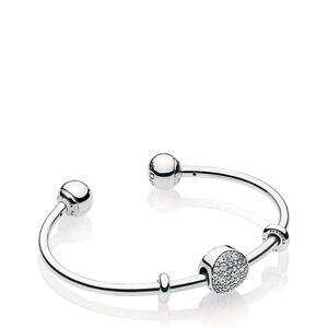 PANDORA Wintry Holiday Open Bangle Gift Set