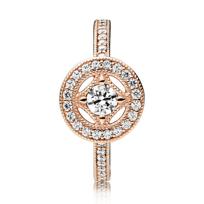 Pandora Rose™ Vintage Allure CZ Ring