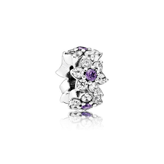 PANDORA Purple Forget Me Not Spacer