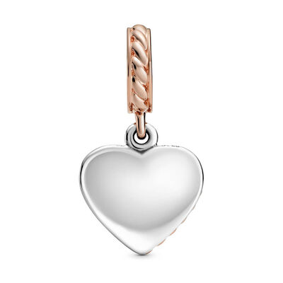 Pandora Rose™ Rope Heart & Love Anchor Dangle Charm