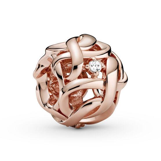 Pandora Rose™ Openwork Woven Infinity CZ Charm