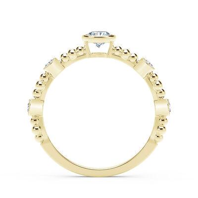 The Forevermark Tribute™ Collection Feminine Diamond Ring 18K