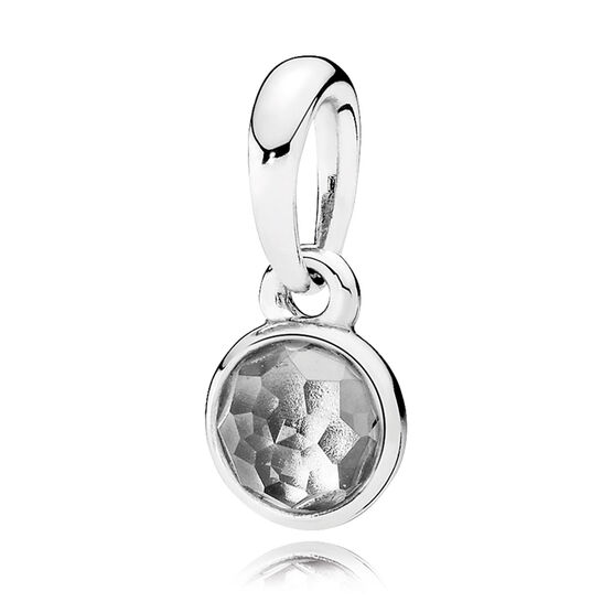 Pandora April Droplet Pendant