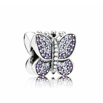 PANDORA Sparkling Butterfly CZ Charm