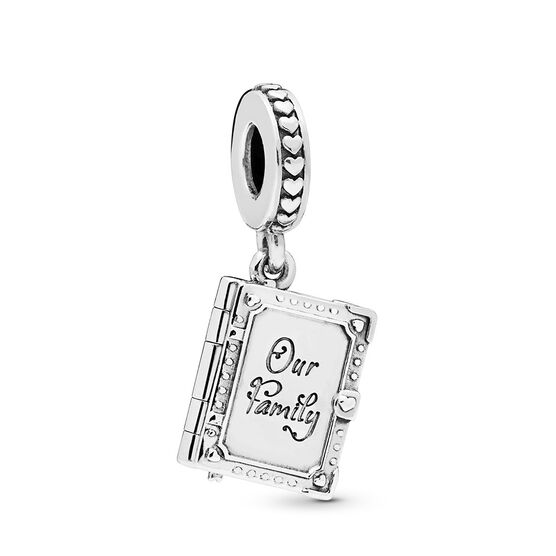 Pandora Family Book Dangle Charm