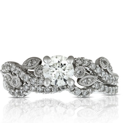 Diamond Bridal Set 14K, 1 & 1/15 ctw.