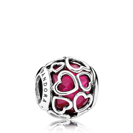 PANDORA Encased in Love Crystal Charm