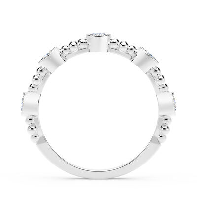 The Forevermark Tribute™ Collection Delicate Diamond Ring 18K