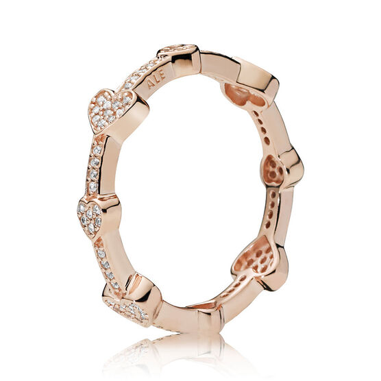 PANDORA Rose™ Alluring Hearts CZ Ring