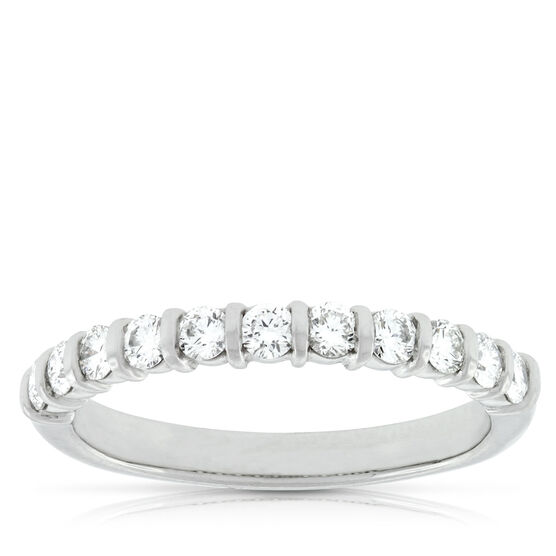 Diamond Band in Platinum, 1/2 ctw.