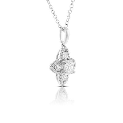 Signature Forevermark Diamond Flower Necklace 18K