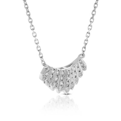 Diamond Mini Collar Necklace 14K