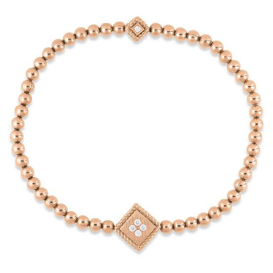 Rose Gold Roberto Coin Palazzo Ducale Diamond Bracelet 18K