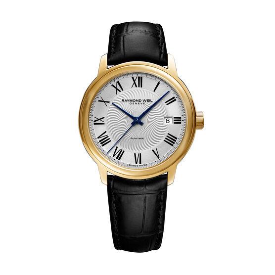Raymond Weil Maestro Yellow PVD Automatic Watch