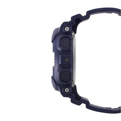 G-Shock S-Series Blue Strap Rose PVD Dial Watch, 44.7mm