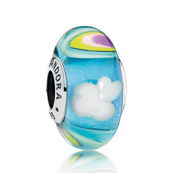PANDORA Rainbow  Murano Glass Charm