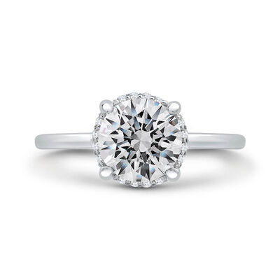 "Bella Ponte ""The Whisper"" Diamond Engagement Ring Setting 14K"