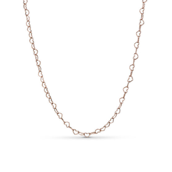 Pandora Rose™ Joined Hearts Necklace