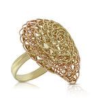 Toscano Woven Ring 14K