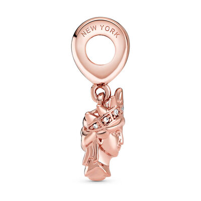 Pandora Rose™ New York Statue of Liberty CZ Dangle Charm
