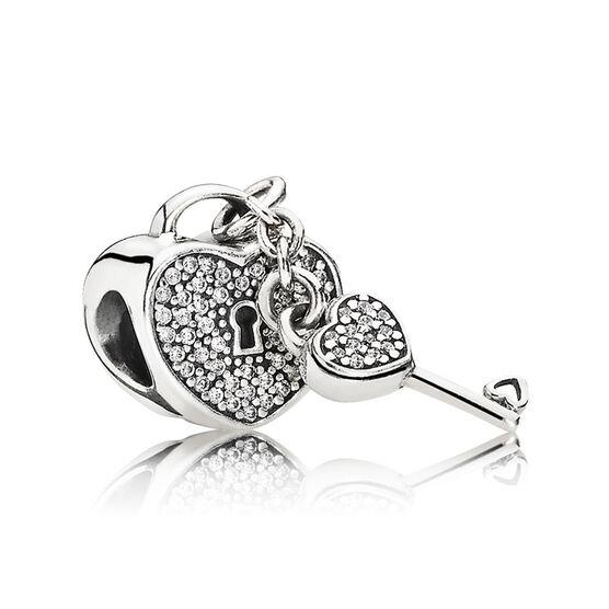 Pandora Lock of Love Charm