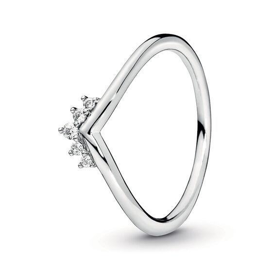 Pandora Tiara Wishbone CZ Ring