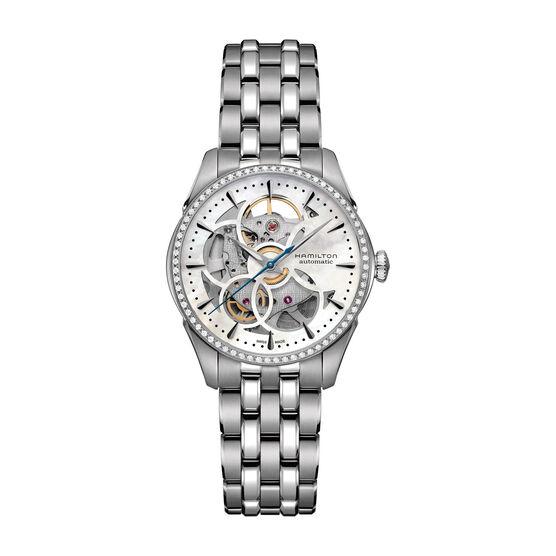 Hamilton Jazzmaster Diamond Viewmatic Skeleton Watch