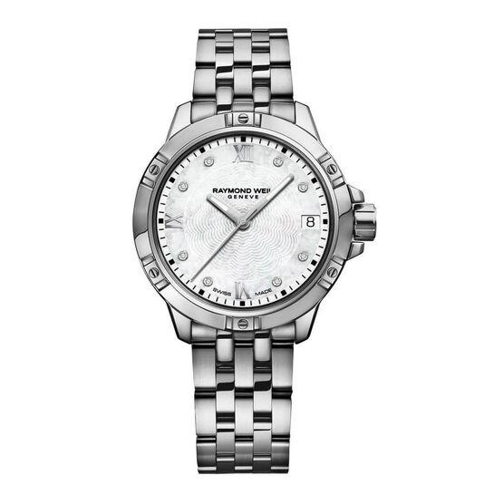 Raymond Weil Tango Stainless Diamond Dial Watch
