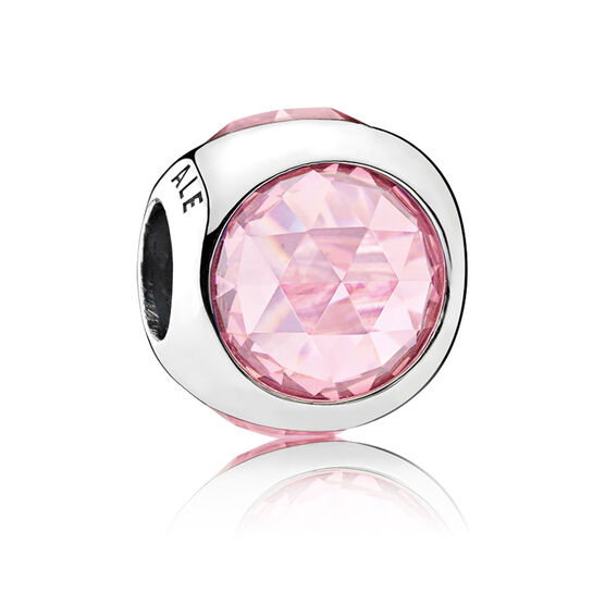 PANDORA Radiant Droplet, Pink CZ Charm