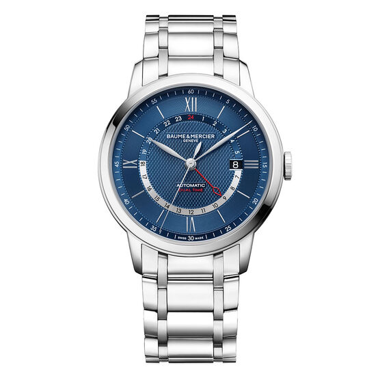 Baume & Mercier CLASSIMA 10483 Blue Dial Watch