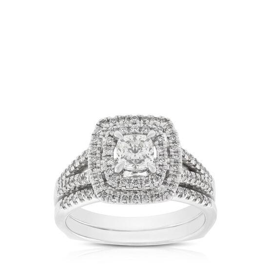 Ikuma Canadian Diamond Bridal Set 14K