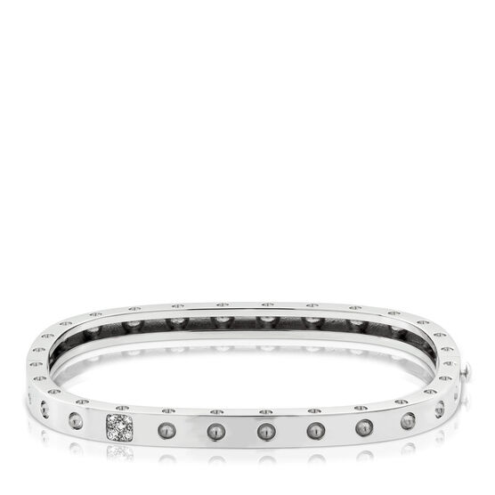 Roberto Coin Pois Moi Diamond Bangle 18K