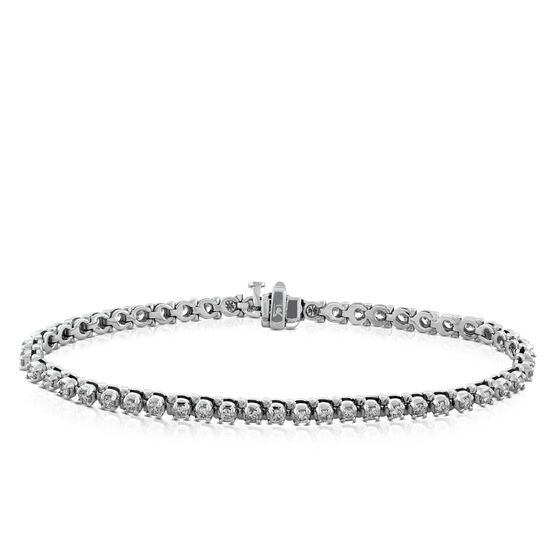 Diamond Line Bracelet 14K, 2 ctw.