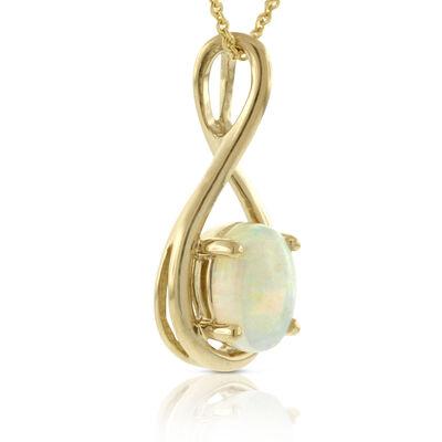 Opal Pendant 14K