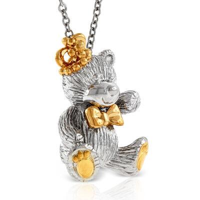 2014 Benny Bear Pendant in Sterling Silver