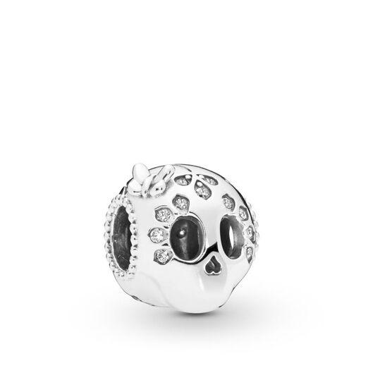 Pandora Sparkling Skull CZ Charm