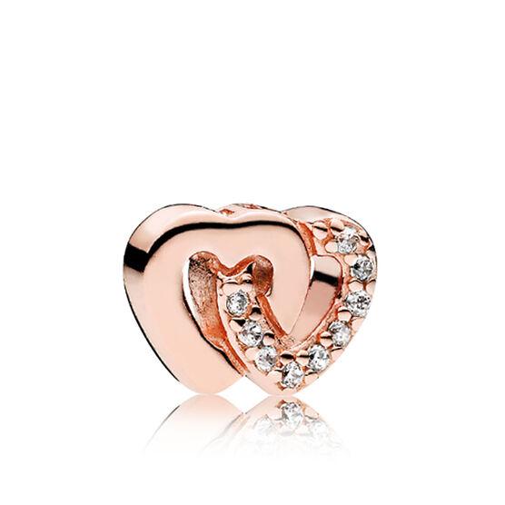 PANDORA Rose™  Interlocked Hearts Petite Locket CZ Charm