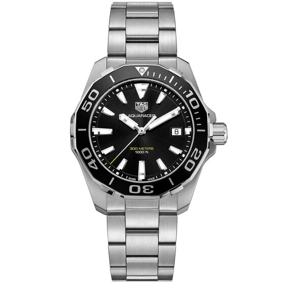 TAG Heuer Aquaracer Quartz Aluminum Bezel Watch