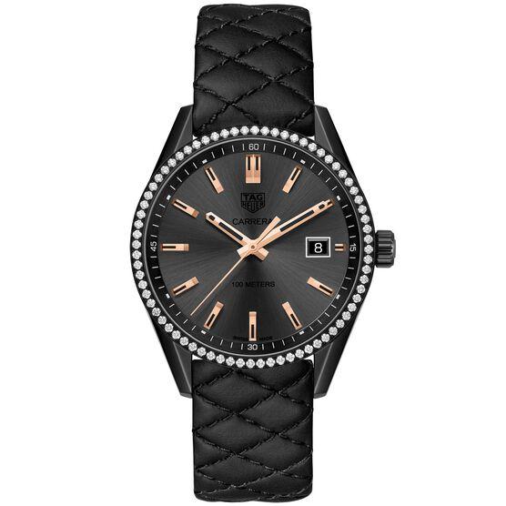 TAG Heuer Carrera Diamond Bezel Quartz Watch