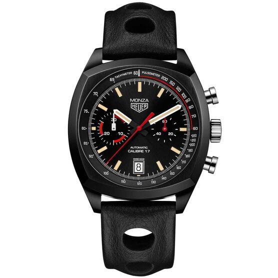 TAG Heuer Heritage Caliber 17 Auto Chrono Tachymeter Monza Limited Edition Watch