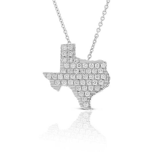 Roberto Coin Diamond Texas Necklace 18K