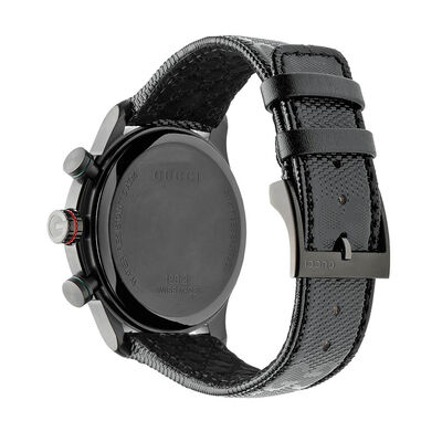 Gucci G-TIMELESS Black PVD Chronograph Watch
