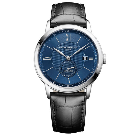 Baume & Mercier CLASSIMA 10480 Blue Dial Watch