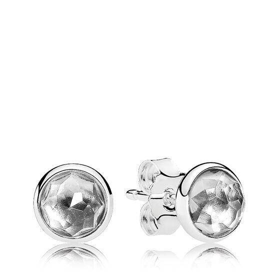 Pandora April Droplet Earrings