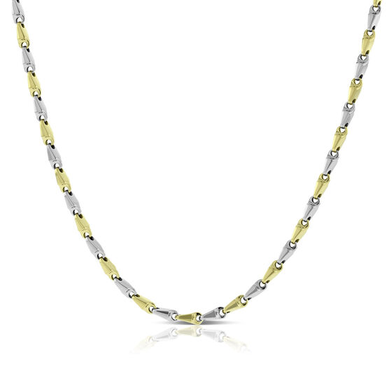 Toscano Stampato Necklace 14K, 24""